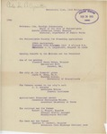 Notes on the Program for the Philadelphia Society for Promoting Agriculture 128th Anniversary, February 27, 1913