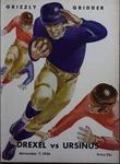Grizzly Gridder Ursinus College Official Football Program, November 7, 1936