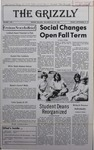 The Grizzly, September 29, 1978