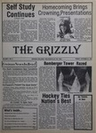 The Grizzly, October 27, 1978