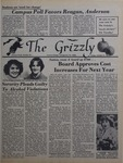 The Grizzly, October 31, 1980