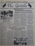 The Grizzly, November 14, 1980