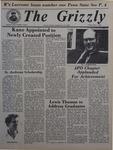 The Grizzly, May 1, 1981 by James Wilson, Barbara Foley, Pat Keenan, Jay Repko, Martin Sacks, David Garner, and Beth Repko