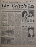 The Grizzly, January 29, 1982