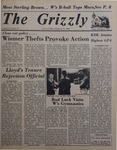 The Grizzly, February 5, 1982 by James H. Wilson, Mark Angelo, Kevin Burke, Larry Muscarella, Georgeann Fusco, Mary Mulligan, Duncan C. Atkins, Chuck Groce, Joe Rongione, Jean Morrison, Richard P. Richter, and Glenn A. Parno