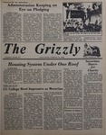 The Grizzly, February 12, 1982 by James H. Wilson, Mark Angelo, Karen L. Reese, Buffy Cyr, Diana Dakay, Janet Wegman, Phil Repko, Richard P. Richter, Joe Rongione, Chuck Groce, Jean Morrison, and James Nowrey