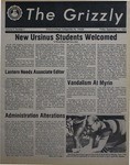 The Grizzly, September 17, 1982