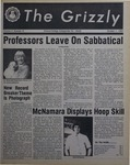 The Grizzly, October 1, 1982
