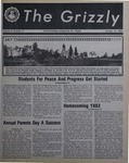 The Grizzly, October 15, 1982