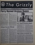 The Grizzly, October 22, 1982 by Gina Daviso, Mary Mulligan, Brian E. Kelley, Richard P. Richter, Larry Muscarella, Mark Lewis, Kenneth Behle, Elizabeth P. Harp, Duncan C. Atkins, Caryn Talbot, Kevin Kunkle, Bev Walizer, Martin Atreides, Perry Romer, John Doyle, Doug Nevins, Scott Scheffler, Michael Schlesinger, James Nowrey, and Jean Morrison