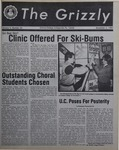 The Grizzly, November 5, 1982