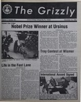 The Grizzly, November 12, 1982