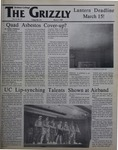 The Grizzly, March 3, 1989