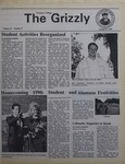 The Grizzly, October 9, 1990 by Krishni Patrick, Kathleen Bowers, Stacey Schaeur, Antoni Castells-Talens, Chris Heinzinger, Sara Jacobson, Erica Compton, Diane Griffin, Terri Johnson, Louis Bove, Ellen Shatz, Melisa Miller, Brian Toleno, Lori Gosnear, Harley David Rubin, Dennis Moir, Steven Grubb, Mark Hallinger, Coleen Casciano, Lewelyn Morgan, and Todd Koser