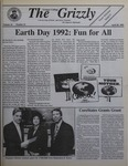 The Grizzly, April 28, 1992