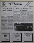 The Grizzly, September 27, 1994