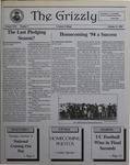 The Grizzly, October 11, 1994