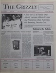 The Grizzly, September 28, 1999