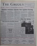 The Grizzly, April 25, 2000