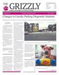 The Grizzly, September 20, 2018 by Johnny Myers, Madison Rodak, Kim Corona, Linda McIntyre, Shelsea Deravil, Samantha Zubler, Kevin Leon, Gabriela Howell, Sam Rosenthal, David Mendelsohn, and Courtney A. DuChene