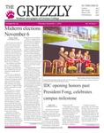 The Grizzly, November 1, 2018 by Courtney A. DuChene, Madison Rodak, Skylar Haas, Kim Corona, Sophia DiBattista, Thomas Bantley, Shelsea Deravil, and David Mendelsohn