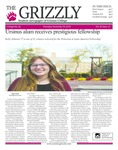 The Grizzly, November 29, 2018 by Courtney A. DuChene, Skylar Haas, Shelsea Deravil, Madison Rodak, Sophia DiBattista, Jenna Severa, Daniel Walker, Kevin Leon, Thomas Garlick, Sam Rosenthal, and David Mendelsohn