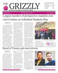 The Grizzly, April 18, 2019 by Courtney A. DuChene, Shelsea Deravil, Sam Isola, Rosalia Murphy, Sienna Coleman, William Wehrs, Daniel Walker, David Mendelsohn, Peter DeSimone, and Mark LeDuc