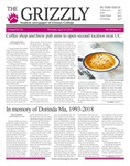 The Grizzly, April 25, 2019 by Courtney A. DuChene, Sienna Coleman, William Wehrs, Sam Rosenthal, Madison Rodak, Johnny Myers, Thomas Bantley, Daniel Walker, David Mendelsohn, and Gabriela Howell