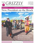 The Grizzly, October 22, 2015