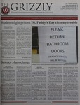 The Grizzly, March 28, 2013