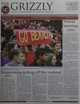 The Grizzly, October 23, 2014