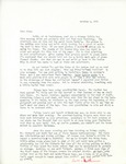 Letter from Linda Grace Hoyer to John Updike, October 2, 1950