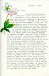 Letter from Linda Grace Hoyer to John Updike, October 3, 1950 by Linda Grace Hoyer