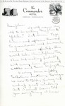 Letter from Linda Grace Hoyer to John Updike, September 21, 1950 by Linda Grace Hoyer