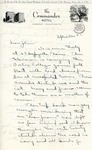 Letter from Linda Grace Hoyer to John Updike, September 22, 1950