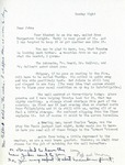 Undated Letter from Linda Grace Hoyer to John Updike