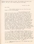 Letter from Linda Grace Hoyer to John Updike, October 10, 1950 by Linda Grace Hoyer