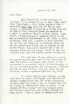Letter from Linda Grace Hoyer to John Updike, October 11, 1950