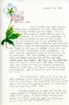 Letter from Linda Grace Hoyer to John Updike, October 12, 1950 by Linda Grace Hoyer