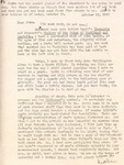 Letter from Linda Grace Hoyer to John Updike, October 13, 1950