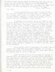 Letter from Linda Grace Hoyer to John Updike, October 16, 1950
