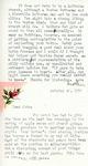 Letter from Linda Grace Hoyer to John Updike, October 20, 1950