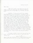 Letter from Linda Grace Hoyer to John Updike, October 27, 1950