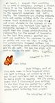 Letter from Linda Grace Hoyer to John Updike, November 2, 1950