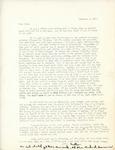 Letter from Linda Grace Hoyer to John Updike, November 5, 1950