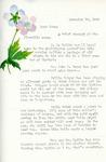 Letter from Linda Grace Hoyer to John Updike, November 10, 1950