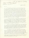Letter from Linda Grace Hoyer to John Updike, November 18, 1950