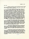 Letter from Linda Grace Hoyer to John Updike, December 7, 1950