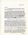 Letter from Linda Grace Hoyer to John Updike, January 4, 1951