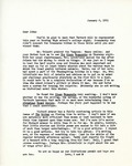 Letter from Linda Grace Hoyer to John Updike, January 6, 1951
